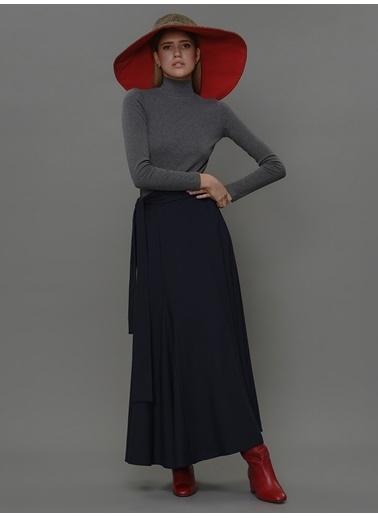 Faraway Etta Skirt Lacivert